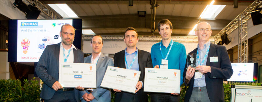 iQunet net wint BEMAS digital innovation award