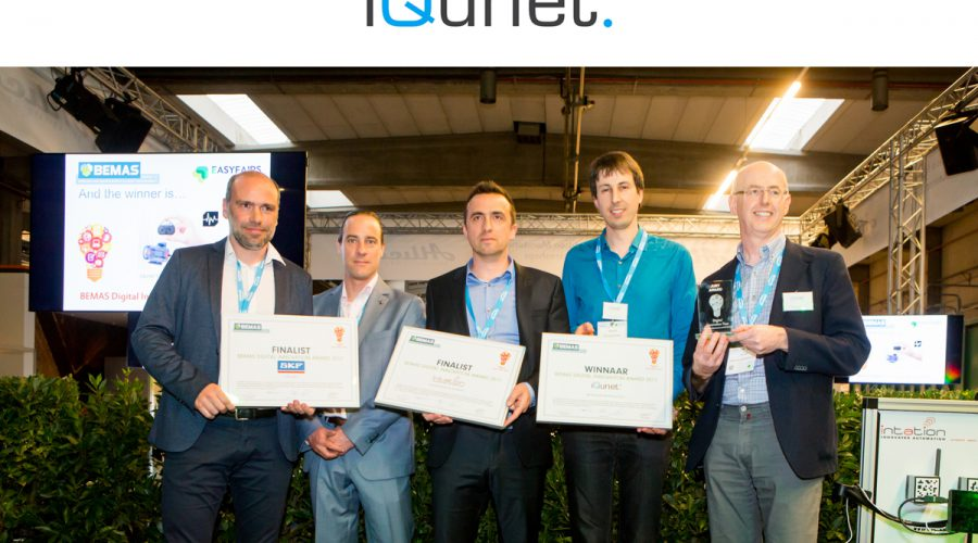 iQunet wint BEMAS Digital Innovation Award